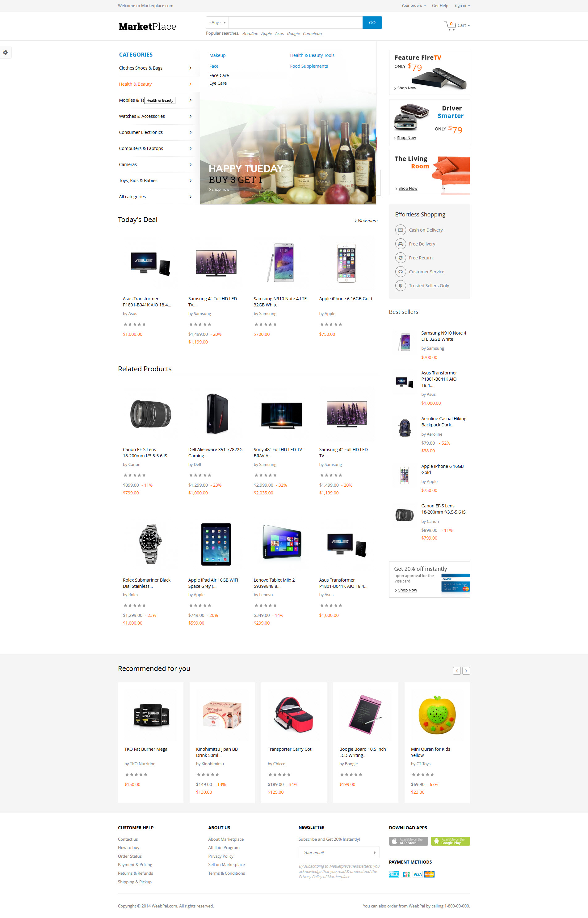 Drupal 7 Marketplace Theme Guide for Developers